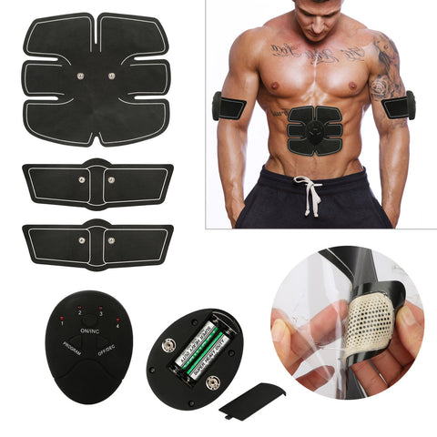 Smart App EMS Muscle Training Fitness Abdominal ABS Trainer - Rewardeals