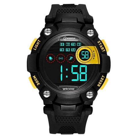 LAGGRA 916LM Kids Digital Electronic LED Waterproof Sports Watch - Rewardeals