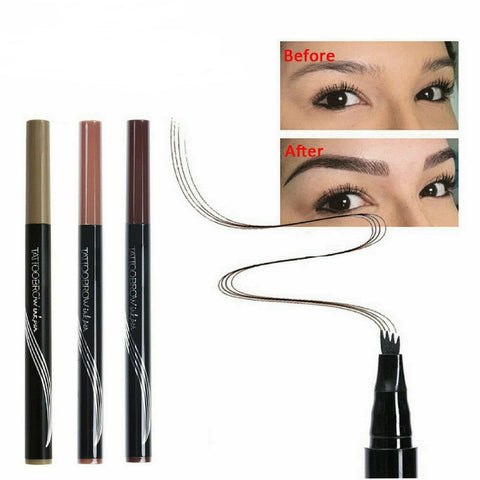 Newest Long Lasting 3D Tattoo Eyebrow Makeup Ink Pen