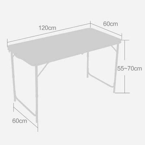 Portable Folding Indoor Outdoor Picnic Party Camping Table