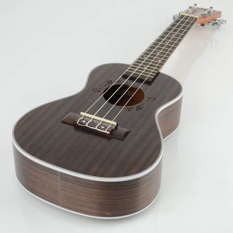"23"" 17 Frets Rosewood Concert Instrument Acoustic Uke Ukulele Hawaiian Guitar - Rewardeals"