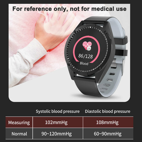 LAGGRA L1433 Waterproof Heart Rate Tracker Fitness Smart Watch For iPhone Android