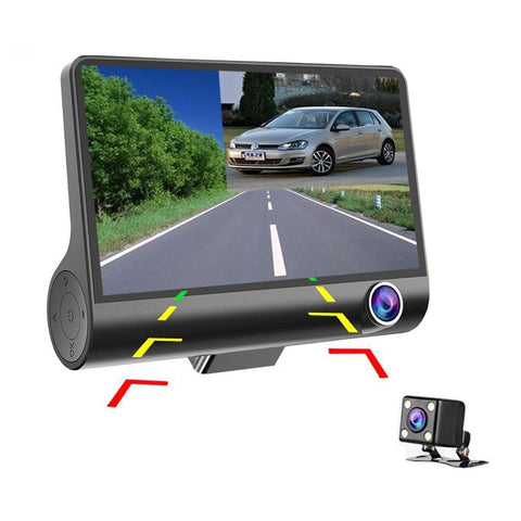 HD 1080P Night Vision Waterproof DVR Video Dash and Rear View Camera - Rewardeals
