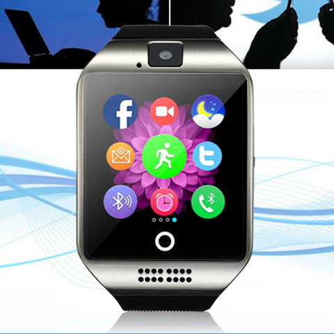 Updated Bluetooth Smart Watch Phone Mate Sports GSM SIM For Android iPhone Samsung - Rewardeals