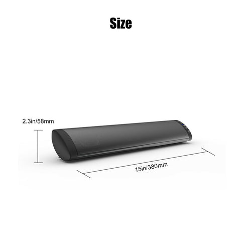 LAGGRA Bluetooth Sound Bar Wireless Bass Subwoofer Home Stereo Theater TV Speaker