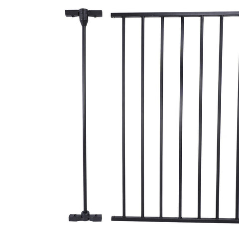 Baby Child Pet Dog Cat Safety Protection Fire Gate Fence - Rewardeals