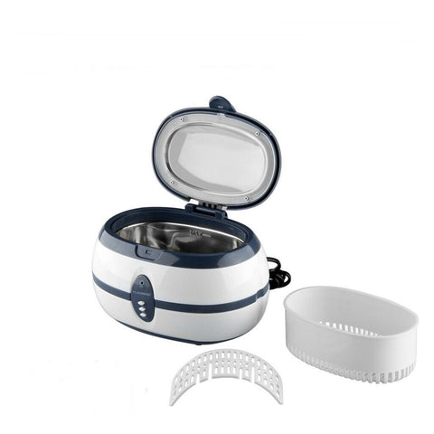 Stainless Steel Ultrasonic Cleaner Tank Jewelry Glasses Watches Rings - Rewardeals