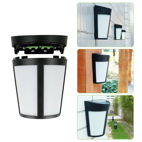 6 LED Solar Power Wall Mount Outdoor Light - Rewardeals