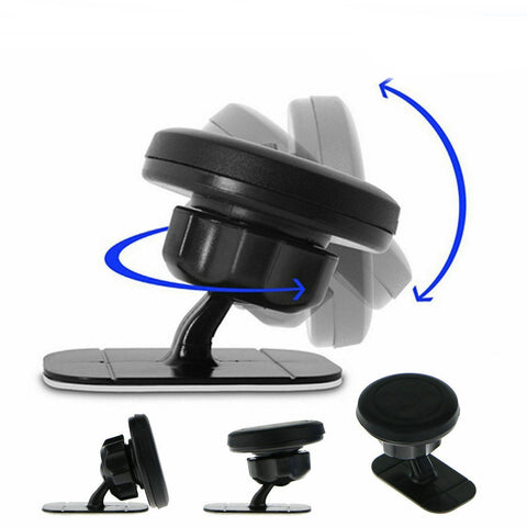 360° Magnetic Car Mount Holder Stand Stick On Dashboard For Cell Phone - Rewardeals