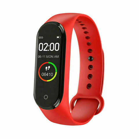 Top Sale Heart Rate Blood Pressure Monitor Tracker Fitness Wrist band Smart Watch Band