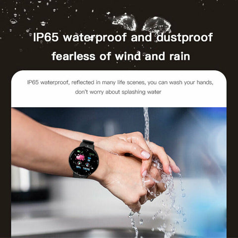 Latest Smart Watch Fitness Heart Rate Tracker Bluetooth Sport for Android IOS