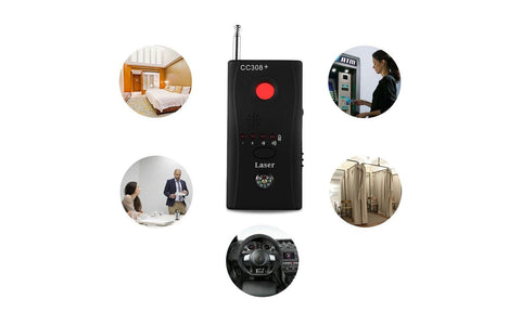 Anti Spy Hidden Wireless Camera Detector GSM GPS Signal RF Tracker - Rewardeals