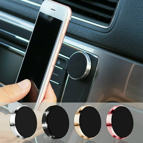 2 Pack Universal Magnetic Car Mount Dashboard Cell Phone Holder Stand for iPhone