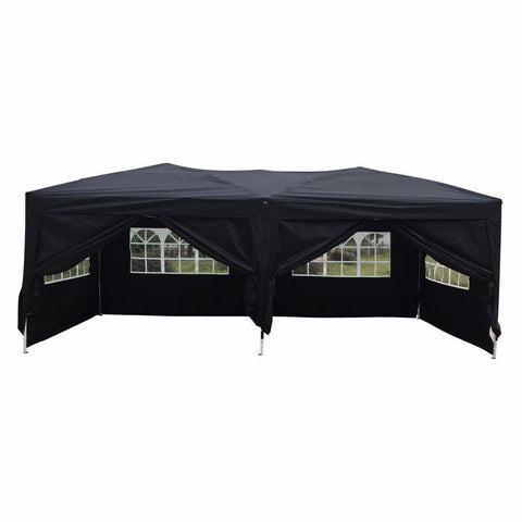 10'x 20' Outdoor Instant POP UP Party Tent Wedding Gazebo with 6 Walls - Rewardeals