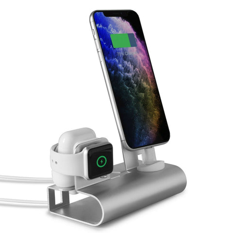 Universal Desktop Charging Station for iPhone Apple Watch and Air Pods Stand