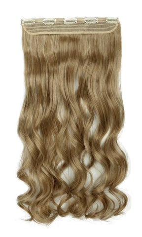 "Celebrity Hair 24"" Secret Clip-In Curly Hair Extensions - Rewardeals"