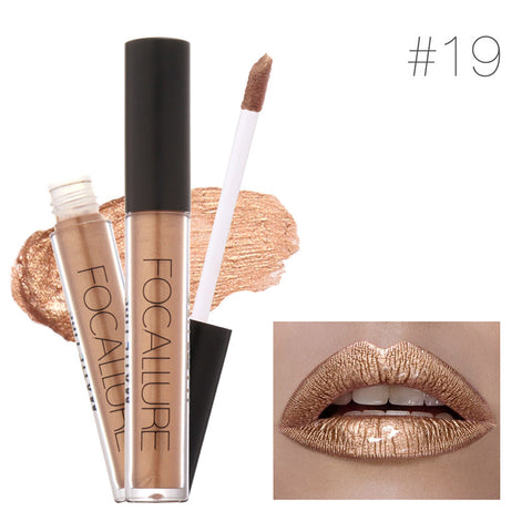 Long Lasting Metallic Lipstick - Rewardeals