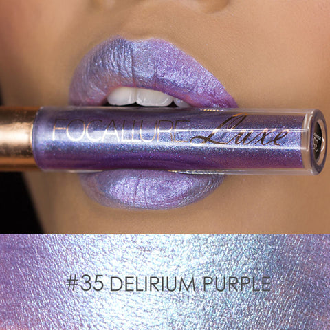 Long Lasting Metallic Lipstick LUXE - Rewardeals