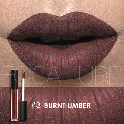 Waterproof Metallic Matte Lipstick - Rewardeals