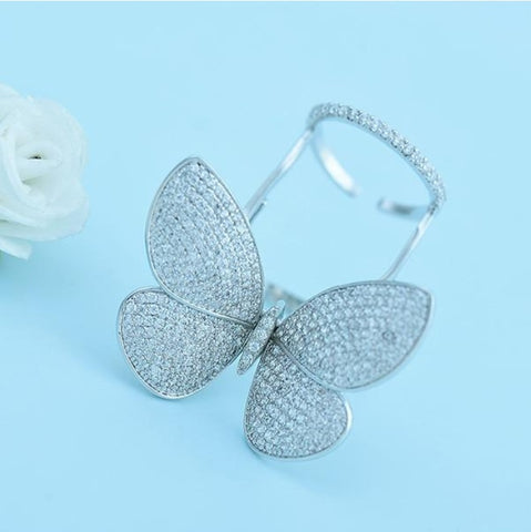 Adjustable Butterfly Ring - Rewardeals