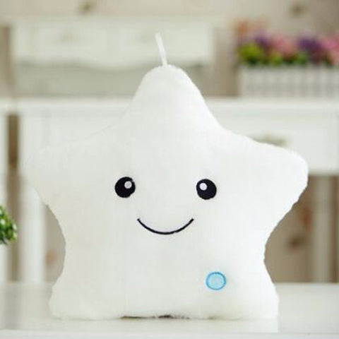 Plush LED Light Star Pillow - Rewardeals