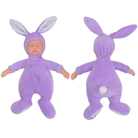 Sleeping Baby Doll in Rabbit Costume - Rewardeals
