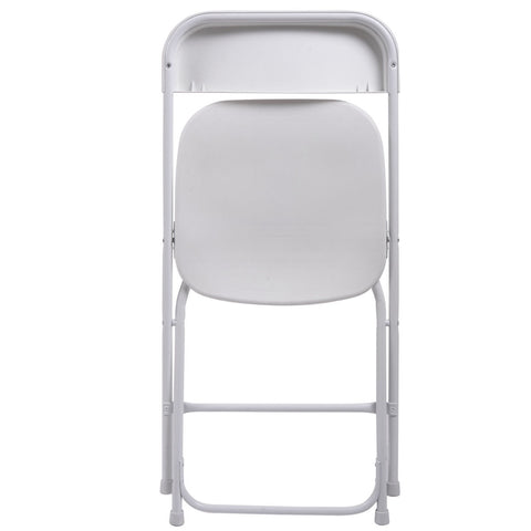 LAGGRA Durable Plastic Folding Chair for Banquets Parties Graduations (10 Pack) - Rewardeals