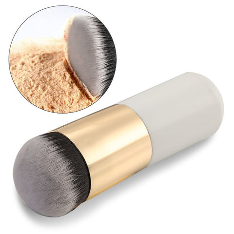 Durable Kabuki Flat Powder Foundation Makeup Brush Great for Blush Contour - Rewardeals