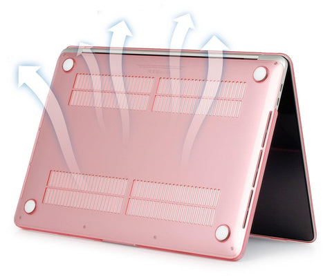 "Metallic Rose Gold Laptop Sleeve for Macbook Air pro Retina 11 12 13 15"" - Rewardeals"