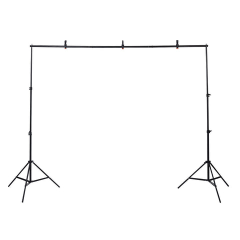 Heavy Duty Adjustable Photo Studio Background Support Stand for Photography 10Ft - Rewardeals