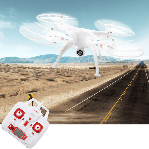 2.4G 4 Channel RC QuadCopter Drone with WiFi FPV 2MP Camera and LCD Monitor - Rewardeals