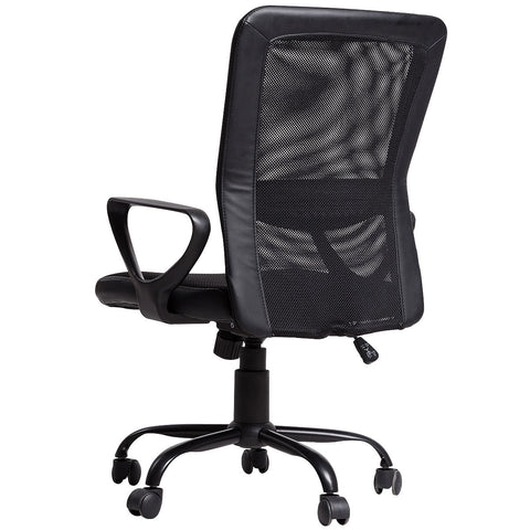 LAGGRA Heavy Duty Breathable Black Mesh Office Home Game Chair - Rewardeals