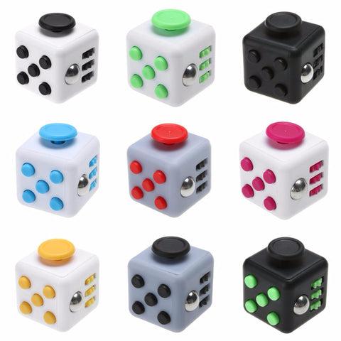 Dice Magic Fidget Cube Desk Toy Perfect for Stress Anxiety Relief - Rewardeals