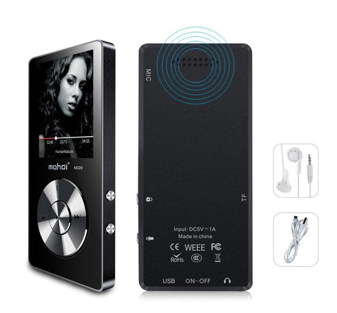 8GB Portable MP3 Player Sports Music FM Radio Video Player Speaker - Rewardeals