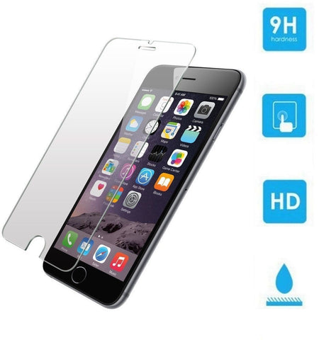 9H Anti Shatter Tempered Glass Screen Protector Glass for iPhone 7 Plus (3 Pack) - Rewardeals