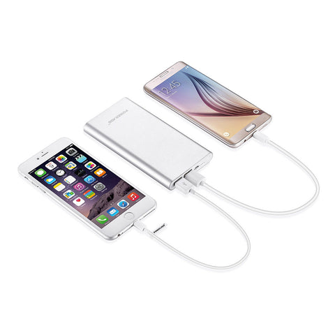LAGGRA Portable 10000mAh Dual USB Power Bank Charger - Rewardeals