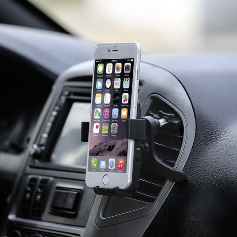 LAGGRA Car Air Vent Padded Phone Mount Cradle Holder for Smartphone - Rewardeals