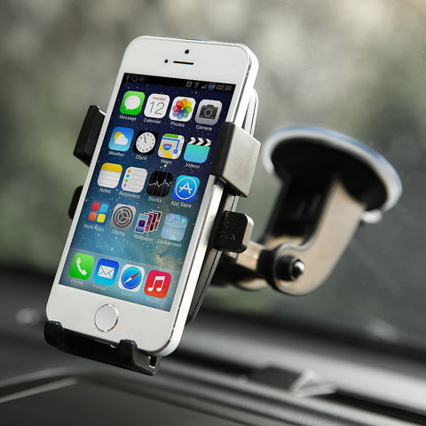 Brand New 360° Car Windshield Mount Holder W/ Strong Suction Cup for Cell Phones - Rewardeals