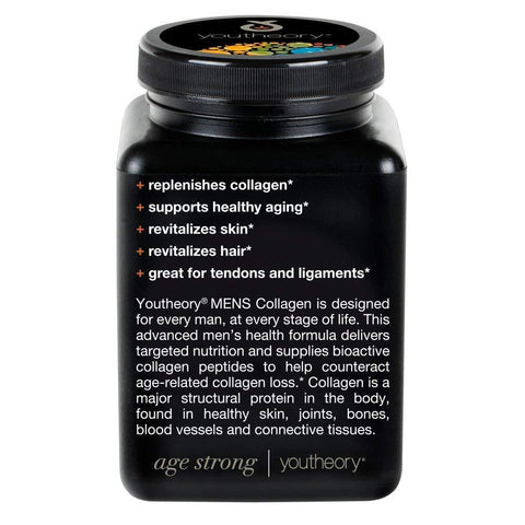 Mens Collagen Advanced Supplement Helps Revitalize Skin and Hair (290 Tabs) - Rewardeals