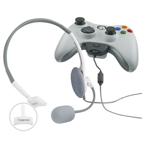 Lightweight Headphone With Noise Canceling Microphone Headset For Xbox 360 Live - Rewardeals