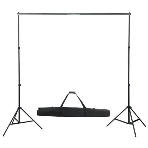 Adjustable Photography Background Support Stand Crossbar Kit - 10ft - Rewardeals
