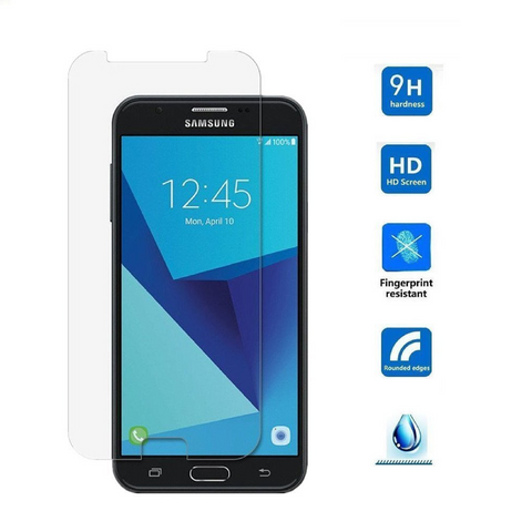 Shockproof Tempered Glass Screen Protector for Samsung Galaxy J7 (2 Pack) - Rewardeals