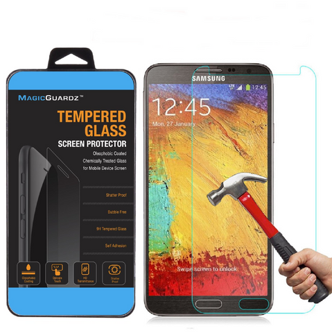 Anti-Shatter Tempered Glass Screen Protector for Samsung Galaxy Note 3 (2 Pack) - Rewardeals
