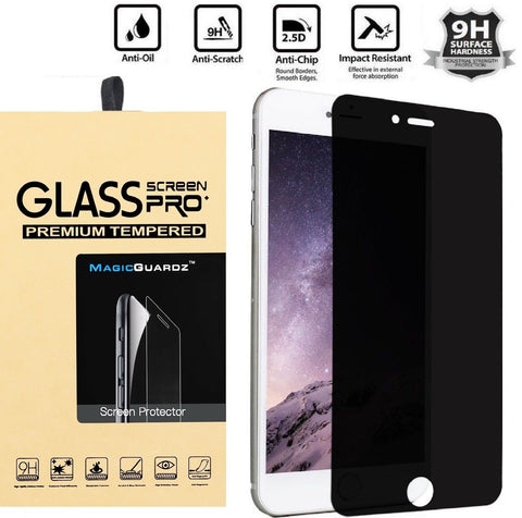 Anti-Spy Peeping Transparent Tempered Glass Screen Protector for iPhone 7 Plus - Rewardeals