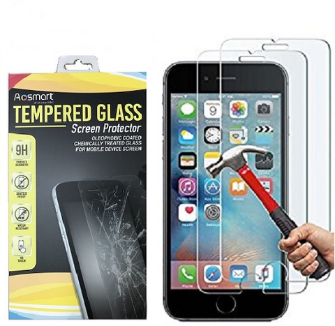 Durable Tempered Glass Screen Protector For iPhone XSmax XR XS X 8 7 6 (3 Pack) - Rewardeals