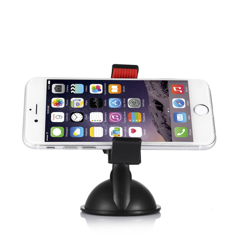 LAGGRA 360 Degree Rotating Car Holder Windshield Mount for Cell Phone - Rewardeals