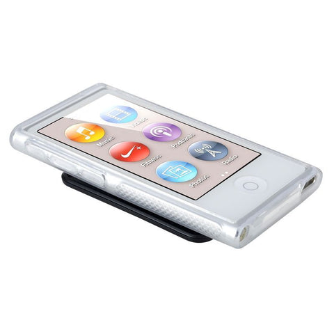 Clear TPU Case Cover with Belt Clip For iPod Nano 7 7G 7th Gen - Rewardeals
