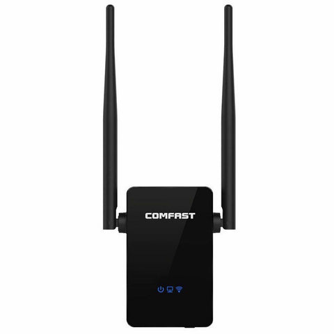 COMFAST Wireless Repeater 300M Network Router WiFi Signal Range Extender - Rewardeals