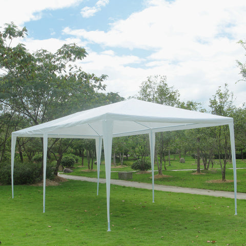 10'x30' Outdoor Party Canopy Wedding Tent White Gazebo Pavilion - Rewardeals