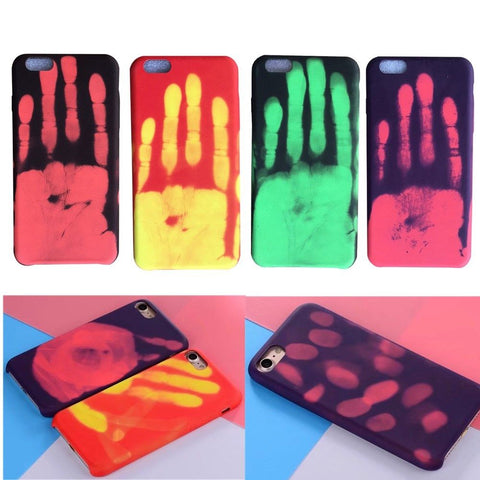 Heat Sensitive Thermo Sensor Color Changing Case for iPhone 8 / 8 Plus / X - Rewardeals